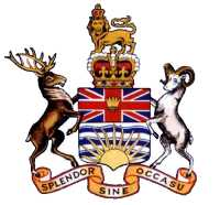BC COAT OF ARMS 1906